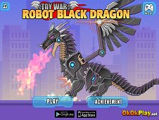 Toy War Robot Black Dragon